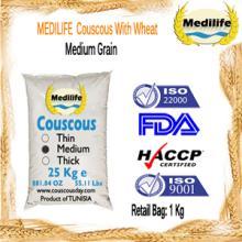 Wholesale Couscous FDA Certification Thick Grain Bulk 25 Kg