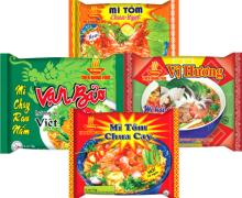Instant Noodles 75gr With Many Flavours