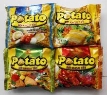 Top Quality Potato Soup Instant Noodles 80gr - Seafood Flavors