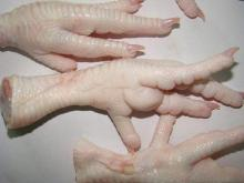 Frozen Processed Chicken Feet, Grade A