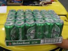 Heineken Beer Bottles and Cans available