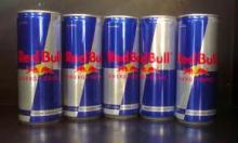 Bull Energy Drink Red / Blue / Silver