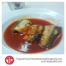 canned herring in tomato sauce 155g