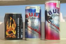 Bull Rider energy drinks