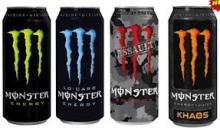 Monster Energy Drink All Flavours 2016 for sale