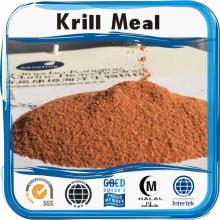 High protein low fat antarctic krill meal