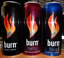 burn Energy Drink ( Coca Cola Product ) 500 Ml