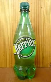 Perrier Mineral Water.