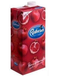 Rubicon PomegranateExotic Soft Drink - 330ml Cans - 24x = 1 Case