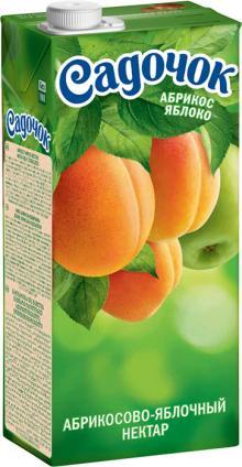 Apricot-apple nectar