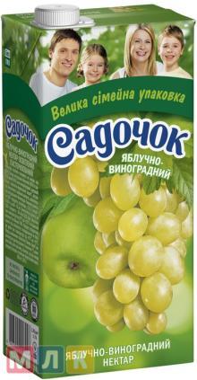 Apple-grape nectar (white)