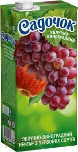Apple-grape nectar (red)
