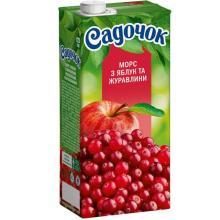 Apple-cranberry fruit drink