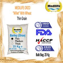 "Wholesale Orzo ""Barley"". FDA Certification. Premium Barley. Medium Grain Bag 25 Kg"