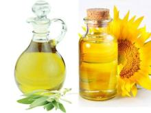 Pure Refined Vegetable Oil and Sunflower Oil