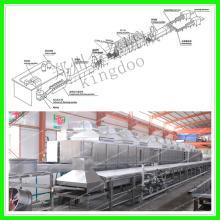economic high efficient non-fried instant noodle production line