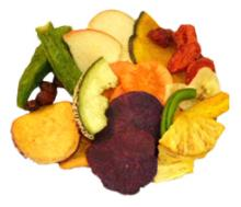 Mixed Fruit and Vegetable Chips