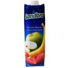 Banan-apple-strawberry nectar Sandora