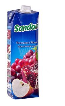Grape-apple-pomegranate nectar Sandora
