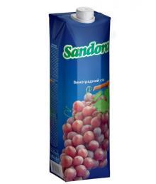 Grape nectar (red) Sandora