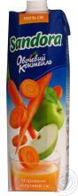 Apple-carrot juice Sandora Vegetable Coctail