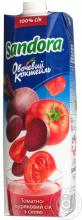 Tomato-beetroot juice Sandora Vegetable Coctail