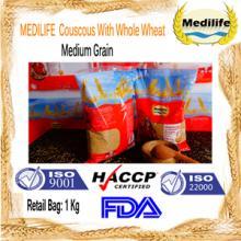 Couscous 100% Whole Wheat Premium quality Couscous Thin Grain Bag 1Kg