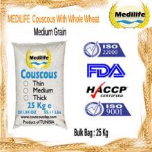 Wholesale Couscous FDA Certification with Whole Wheat Medium Grain Bulk 25 Kg