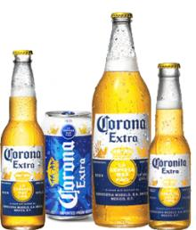 CORONA BEER ALL SIZES AVAILABLE