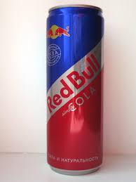 Bull Energy Silver/Red / Blue Drink