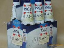 Kronenbourg 1664 blanc beer in blue 25cl and 33cl bottles available now at competitive prices