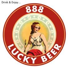 888 Lucky Beer, Craft Beer Made in USA