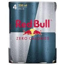 RED BULL ZERO CALORIES ENERGY DRINK