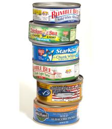 Canned Tuna Fish in Vegetable Oil