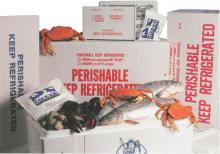 food use boxes for frozen fresh seafood meat poultry frozen fresh