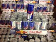 Austria Red Bull Energy Cans Available