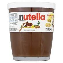 Nutella Chocolate 350g Available with all TEXT