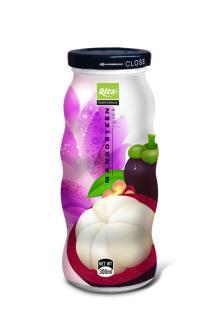 Mangosteen juice 300ml glass bottle