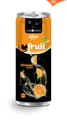 Co2 Orange juice 330ml slim can
