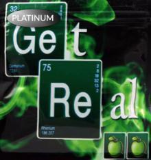 Get Real Green Apple Platinum Herbal Incense