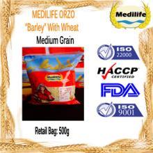 Ultra Premium Quality Barley Medium Grain 100 % Durum Wheat 0,5 Kg