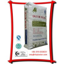 E516 dihydrate calcium sulfate in food application
