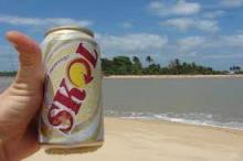 Brazilian SKOL Beer 330ml Bottle FMCG products