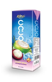 200ml Coconut water with mangosteen juice