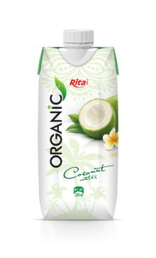 Organic coconut water tetra pack