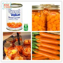 canned carrot in high quality and great taste