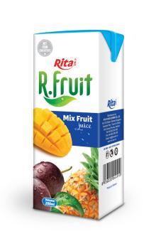 Mix fruit juice 200ml tetra pak