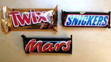Kitkat , MArs, Ferrero Roche , Snickers, Bounty ,