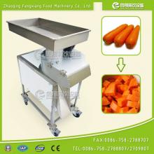 Stainless steel Root Vegetable Big Cube Dice Cutting Machine With High Output