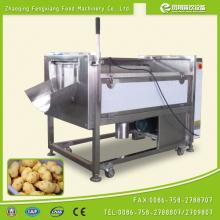CE approval MSTP-500 industrial brush type purple potato washing and peeling machine